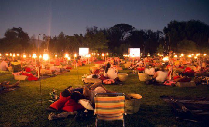 Movie nights at Spier
