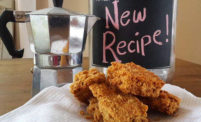 Healthy crunchie recipe