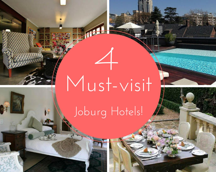 Hotels in Joburg