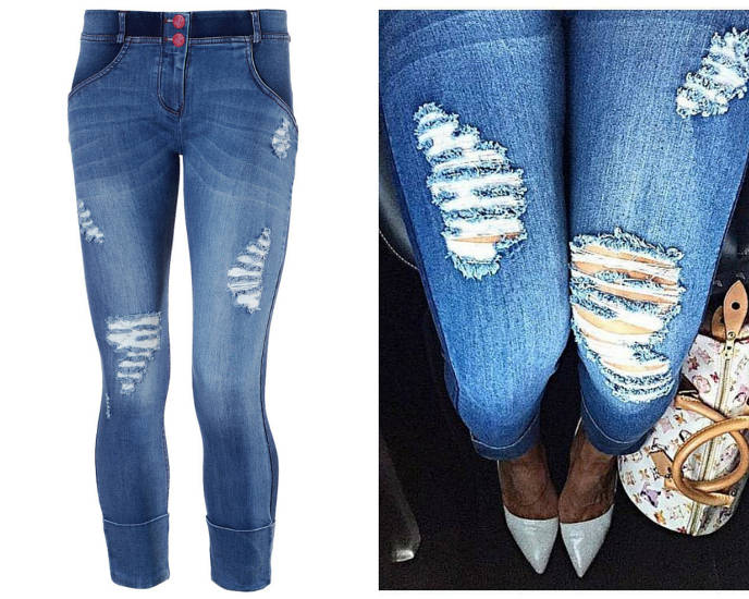 Freddy Distressed Denim