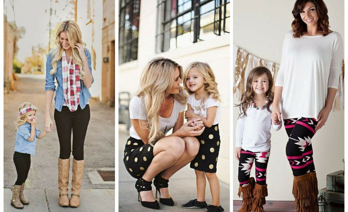 Mommy and tot fashion