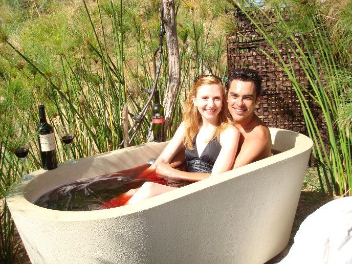 The Mont Destin Red Wine Bath