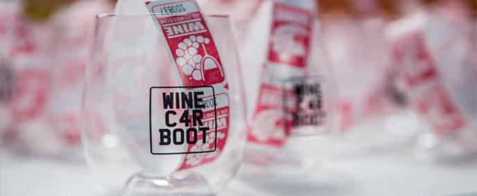 wine car boot sale