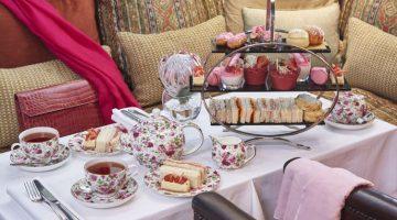 Pink high tea 12 Apostles