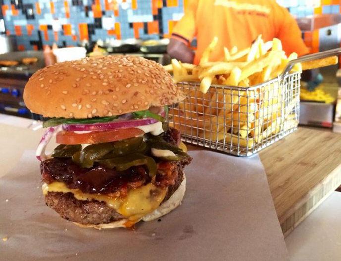 RocoMamas burger