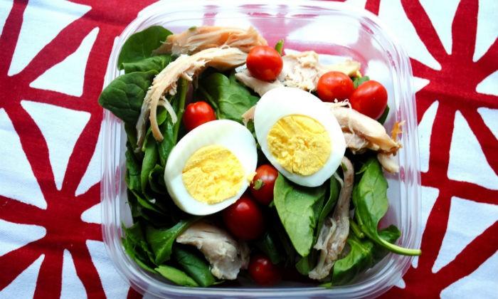egg lunch