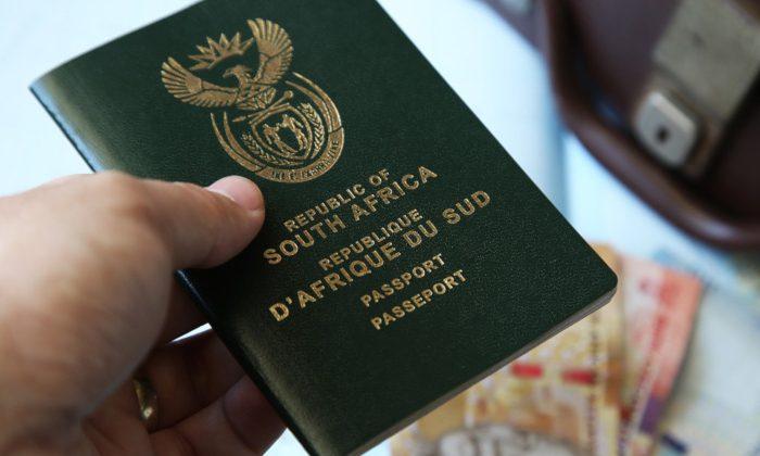 SA passport