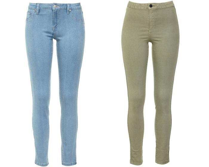 Jeans winter fashion