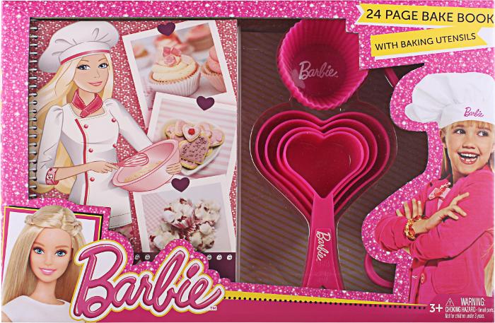 Barbie Bake Book with Baking Utensils