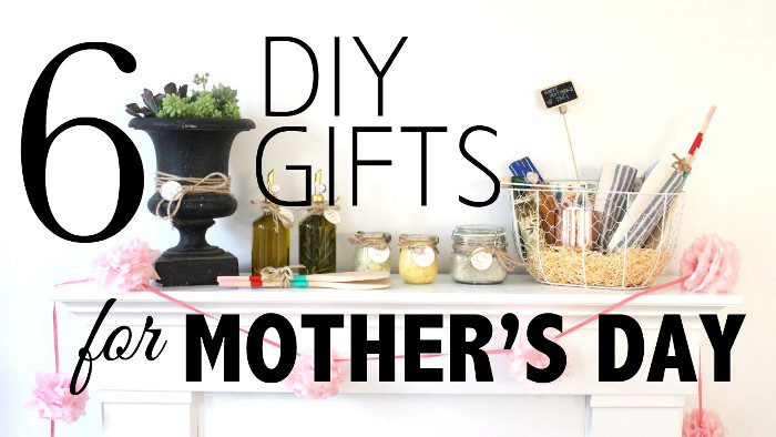DIY Mothers's Day gifts