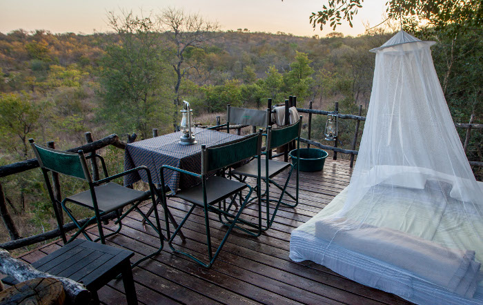 Garonga Bush Bath and Sleep-out - Hoedspruit