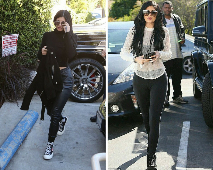 Kylie jenner High tops