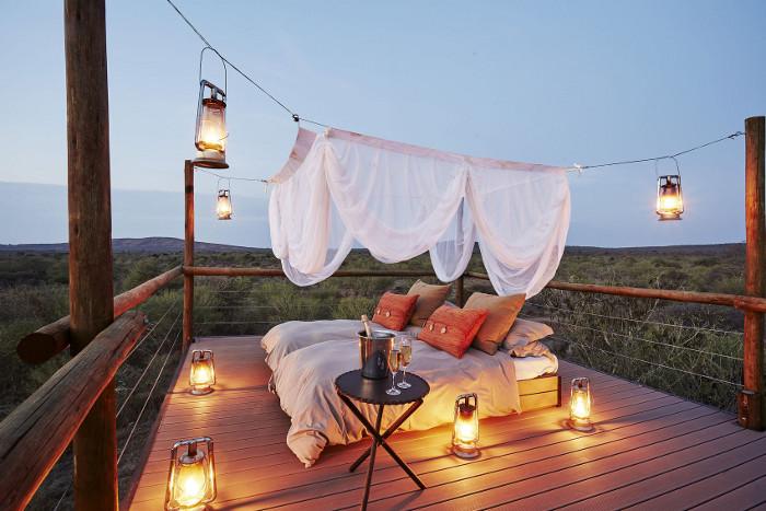 Makanyane Safari Lodge Star-view Sleep-out