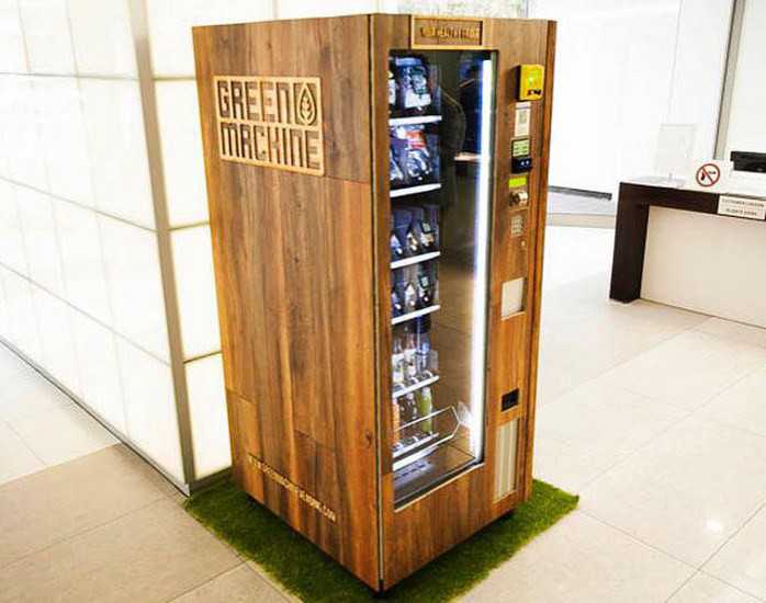Green Machine vending machine