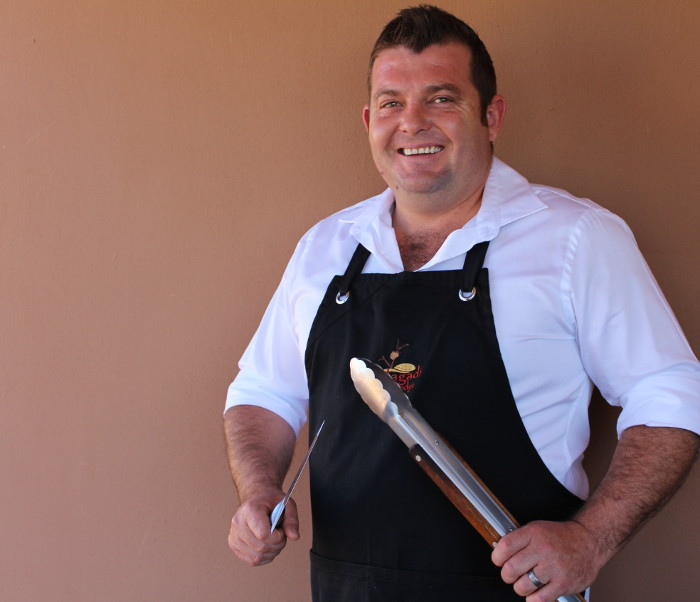 Jacobus Koortzen from Kgalagadi Lodge restaurant