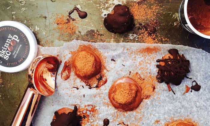 Skinny scoop truffles