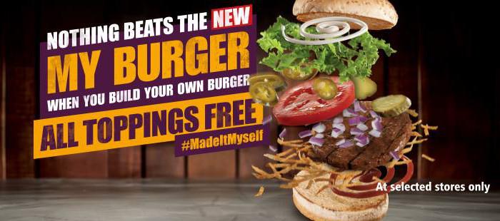 Steers my burger