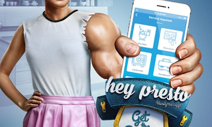 Hey Presto app