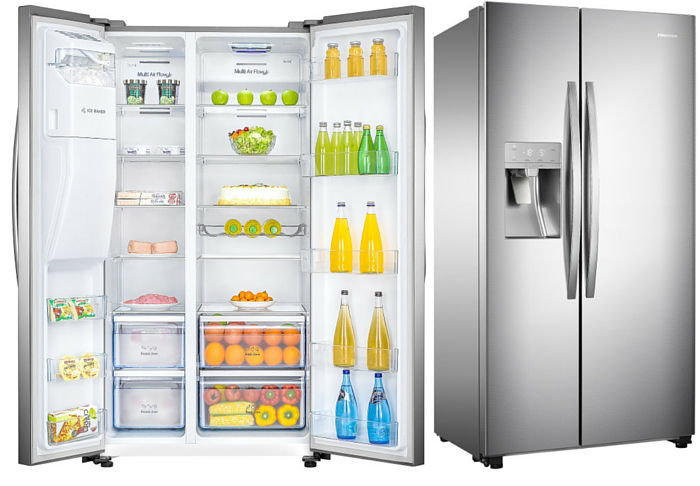 Hisense Ice Maker fridge H700SI-ID