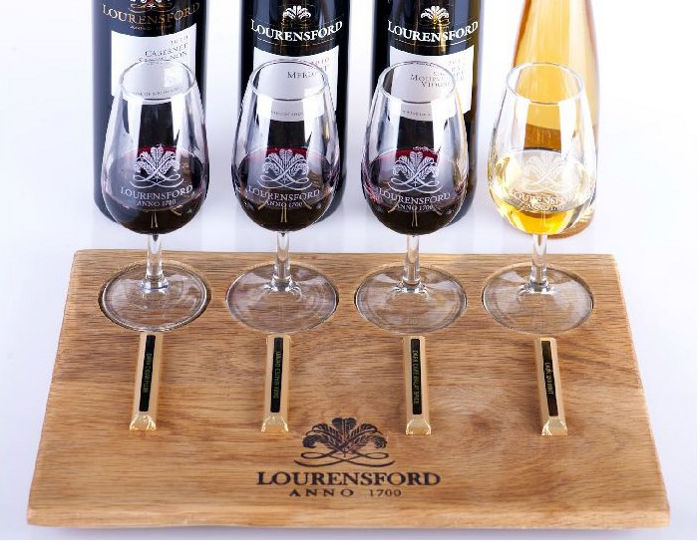 Lourensford chocolate pairing