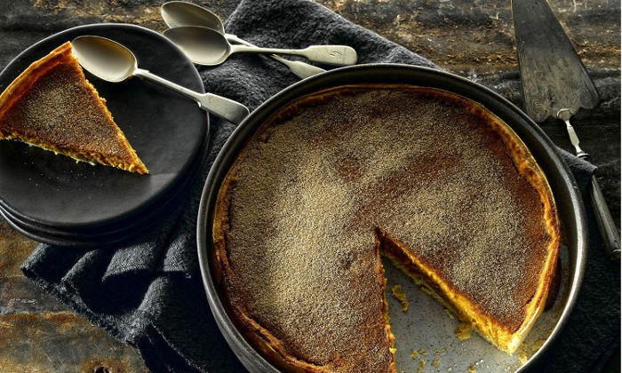 Cream Liqueur Pumpkin Pie