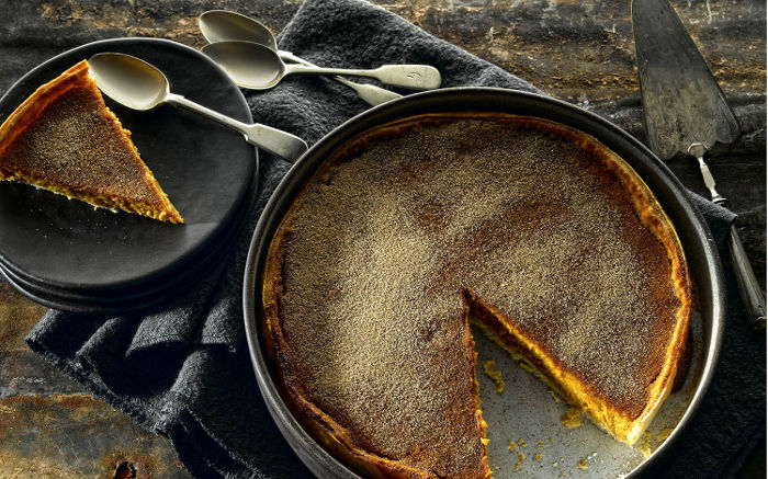 Cream Liqueur Pumpkin Pie
