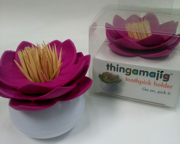 Thingamajig Flower Toothpick holder