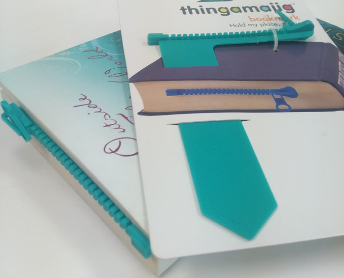 Thingamajig Zipper Bookmark