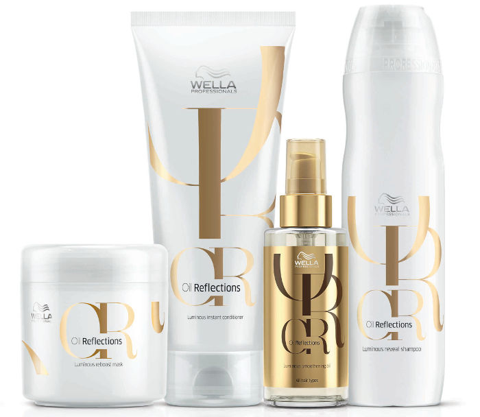 Wella Professionals Oil Reflections collection.
