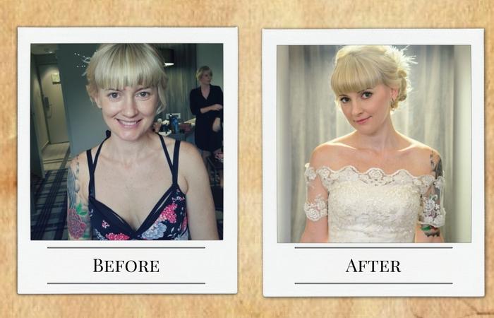 Just Browzing bridal make-up