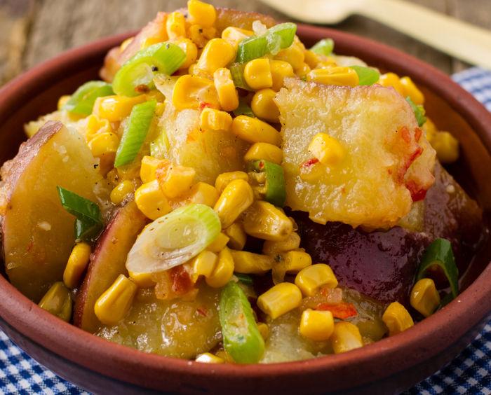 Sweet Potato & Corn Salad