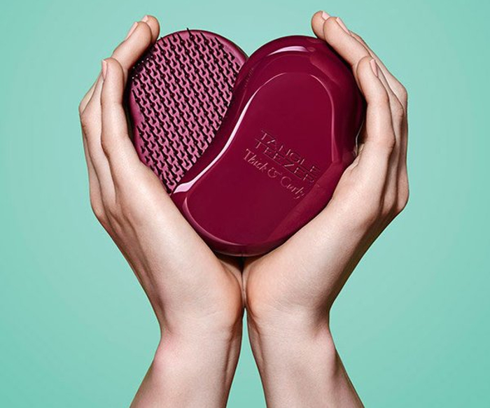 love Tangle Teezer Thick and Curly