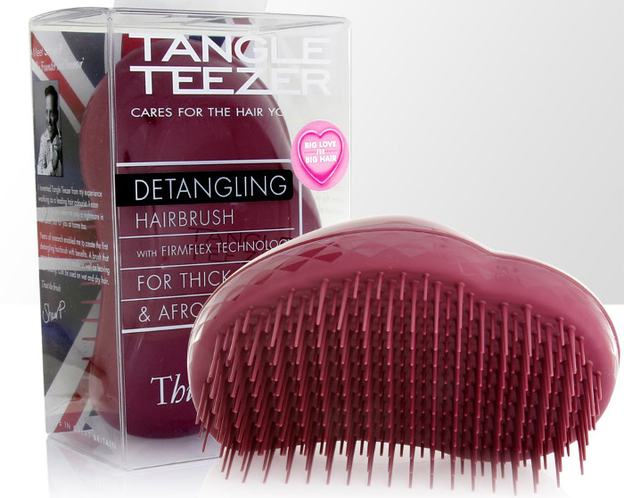 Tangle Teezer Thick and Curly packaging
