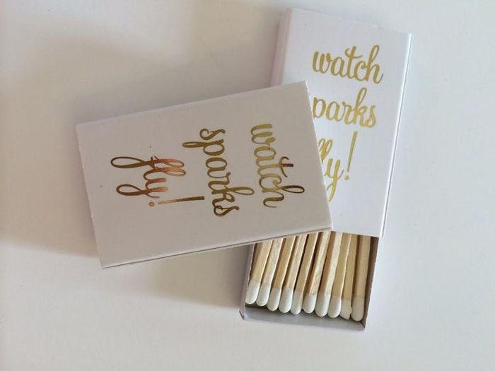 wedding favour matches