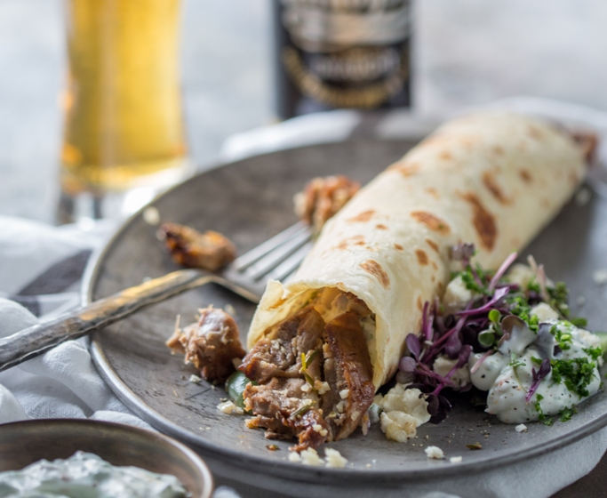 Windhoek Larger Infused Turkish Style Lamb Kebabs