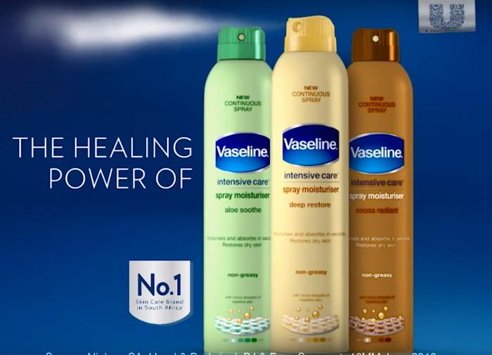 Vaseline Intensive Care Spray Moisturisers
