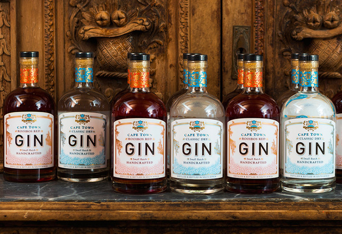 Cape Town Rooibos Red Gin, Cape Town Gin & Spirits Company