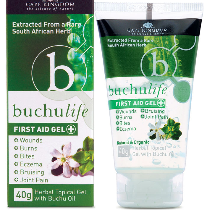 Buchulife first aid gel
