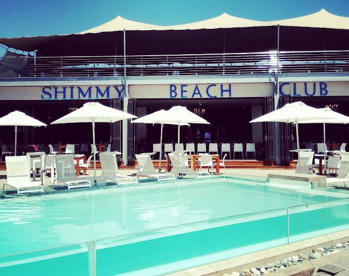 Shimmy Beach Club New Menu