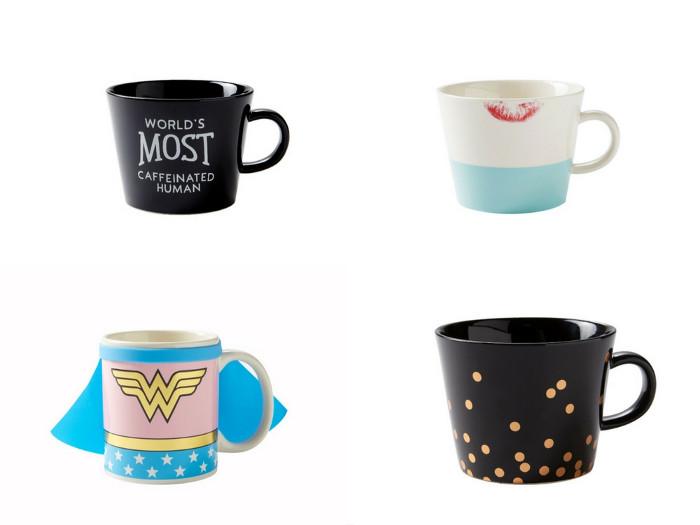 A Collection of Fun Coffee & Tea Mugs
