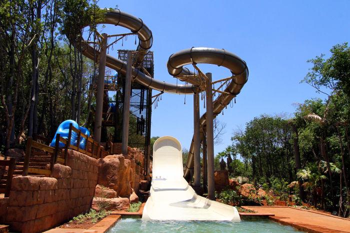 Boomerang slide