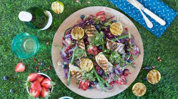 Cilantro and Lime Chicken Breast Salad