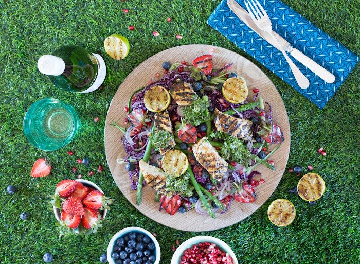Cilantro and Lime Chicken Breast Salad