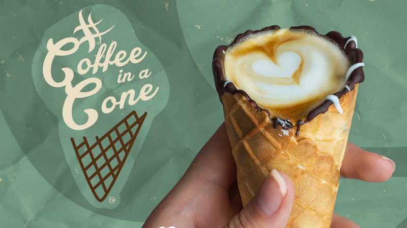 coffee-in-a-cone