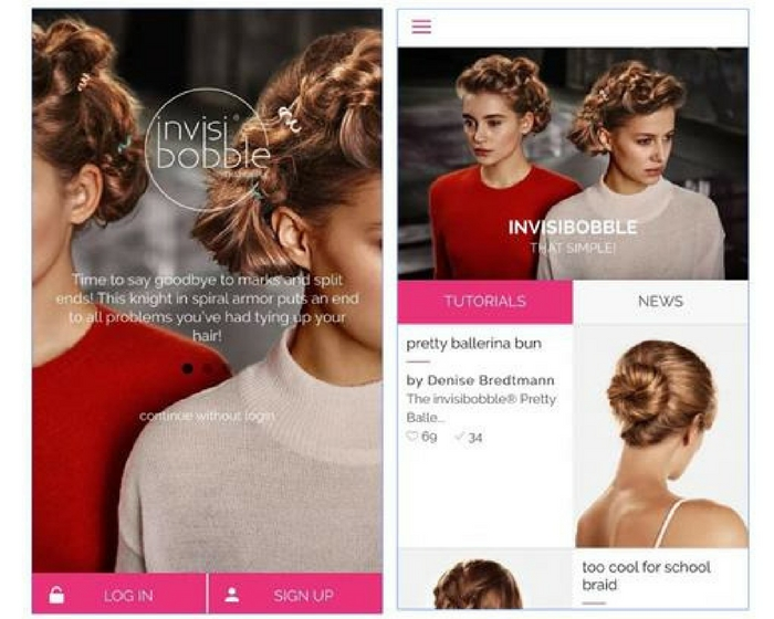 Invisibobble App
