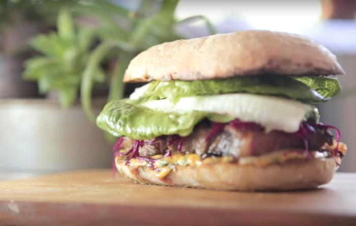 Steak Sandwich w/ Burnt Butter Hollandaise | Matt Sinclair