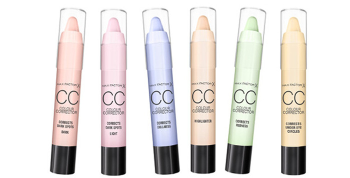 Max Factor CC Colour Corrector Sticks