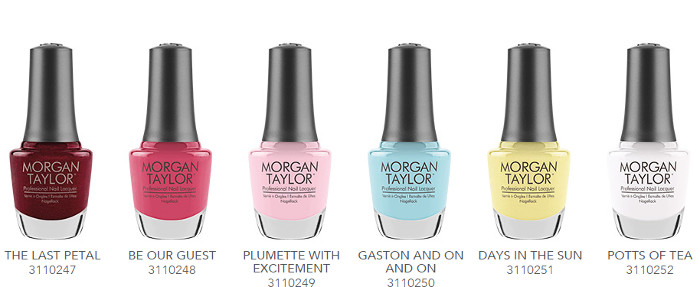 Morgan Taylor Beauty & The Beast Collection