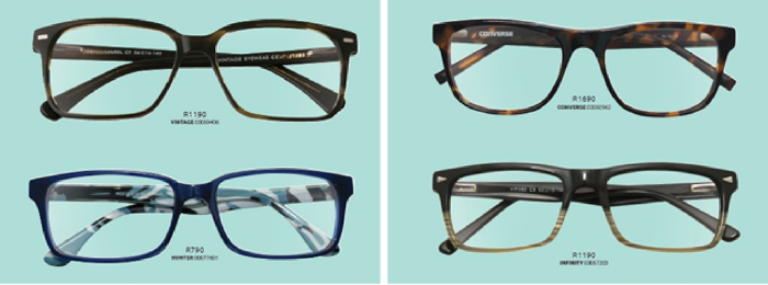 chunky glasses