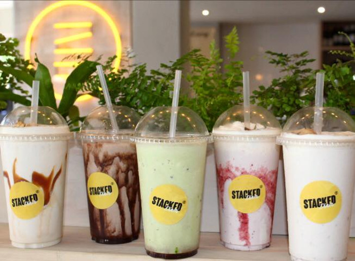 Stacked shakes